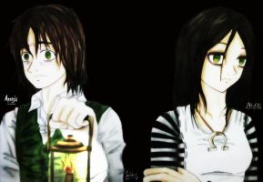 Amnesia and Alice Madness Returns by ReiParaguay