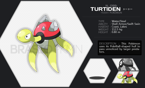 099 Turtiden by BrasioPkmn