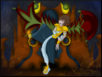 (Evil Pit Concept) What's Wrong Palutena? by AnimalCreation