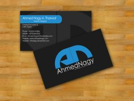 Ahmed Nagy Business Card by XtrDesign