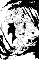 King Lion by johnnymorbius