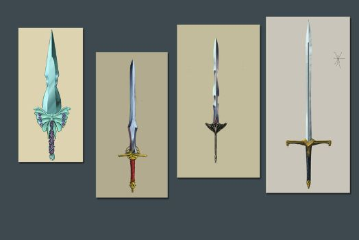 Swords ! by Robjenx