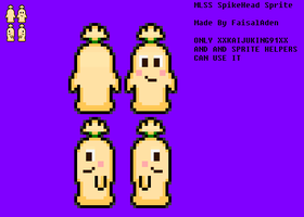 MLSS SpikeHead Sprite Preview by FaisalAden