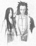 Unohana and Kenpachi by Moony-14-Lucky