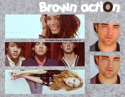 Brown action by missrocketqueen