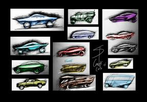 Concept Car Pack by TranceParadox