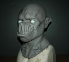 Demon Mask Sculpt by AfterlightRob