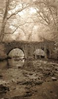 Sepia Bridge by amberstudios