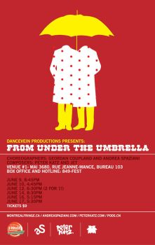 FromUnderTheUmbrella. by pods