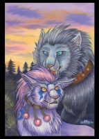 Druids love by Fur-kotka
