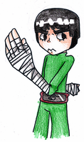 Rock Lee :request: by VioletAqua