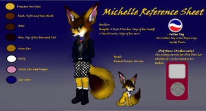 Michelle Reference 2013 by Fox-under-the-stars