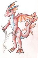 Red Water Dragon by Nefa-Aria