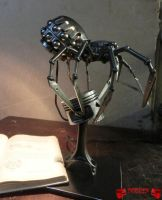 Spider Table Lamp by Madhouse-Customs