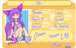 Lotus-Town: Mimi Application by Trickychan