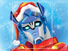Optimus claus by murr-miay