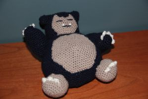 #143 Snorlax by pokecrochetchallenge