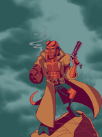 Hellboy v.2 by StevenRayBrown