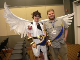 Tekkocon Pic 27 - Devin with Pit by anime-fan-addict