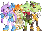Commission For Paul - freedom planet by blavk