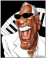 Ray Charles by Neilimarte