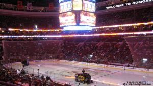 View at a Flyers game by sth1977