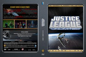 Justice League Unlimited Volume 1 Custom DVD Cover by SUPERMAN3D