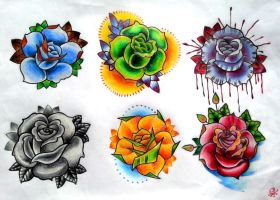roses flash by BMXNINJA
