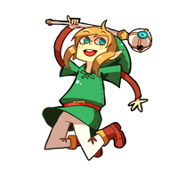 Zelda Collab - Rod of Seasons by BuraMathews