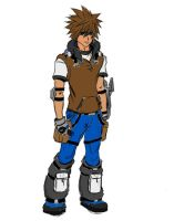 Older Sora Color Sketch by DevilWillPay10