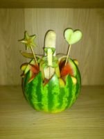 Fruit Carving by BlondyKay