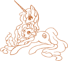 Cream and cotton candy~ by Hisashi-Buri