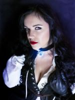 Yennefer cosplay 7 - The Witcher 3 Wild Hunt by AbigailSins