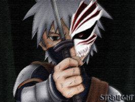 kakashi little hollow by stralight2011