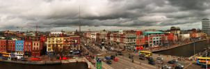 Dublin City panoramic by BoB242