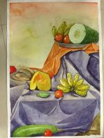 Water colour's Drawing 4 by musiks-momi