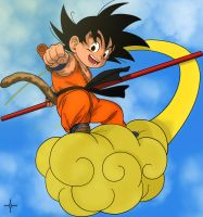 Kid Goku by Lele1988