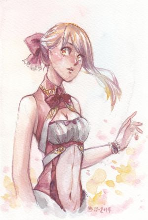 Seleana : Watercolor by ShiSherry