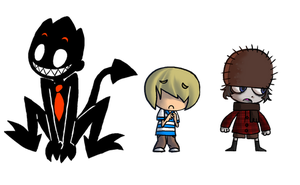 WHiMS characters + Vlad by Obsequious-Minion