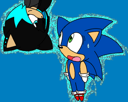 Luka (Justice) and Sonic (Edited) + Roleplay by InsaneVaporeon