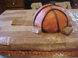 basketball cake 2 by toastles