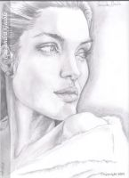 Angelina Jolie by DarkGirlDrawings