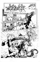 Red Sonja 73 Page 16 by Marcio Abreu by Xanathin