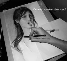 Drawing Angelina Jolie s5 by Per-Svanstrom