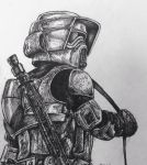 Imperial Scout Trooper by MailJeevas33