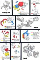 Transformer Toy Instructions by PencilMonkey