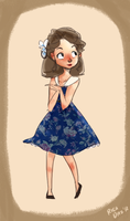 A little lady from the 50s by vanipy05