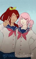 Sympho and Me by GresiteIsland