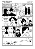 Blues Brothers Comic, pg 1 by Merystic