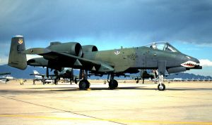 74 TFS A-10A at Longrifle 87 by F16CrewChief